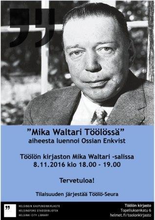 Mika Waltari luento 081116 pakattu